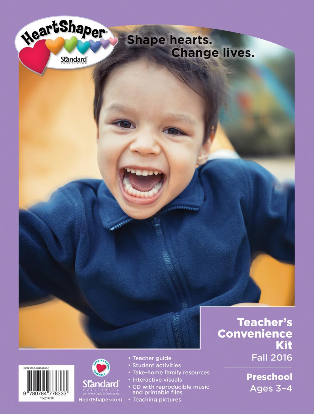 Preschool Teacher's Kit - Sunday School Curriculum Classes