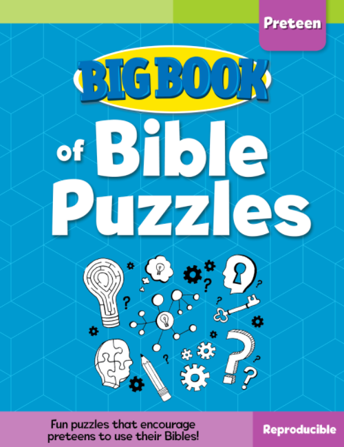 Big Book of Bible Puzzles for Preteens Cover
