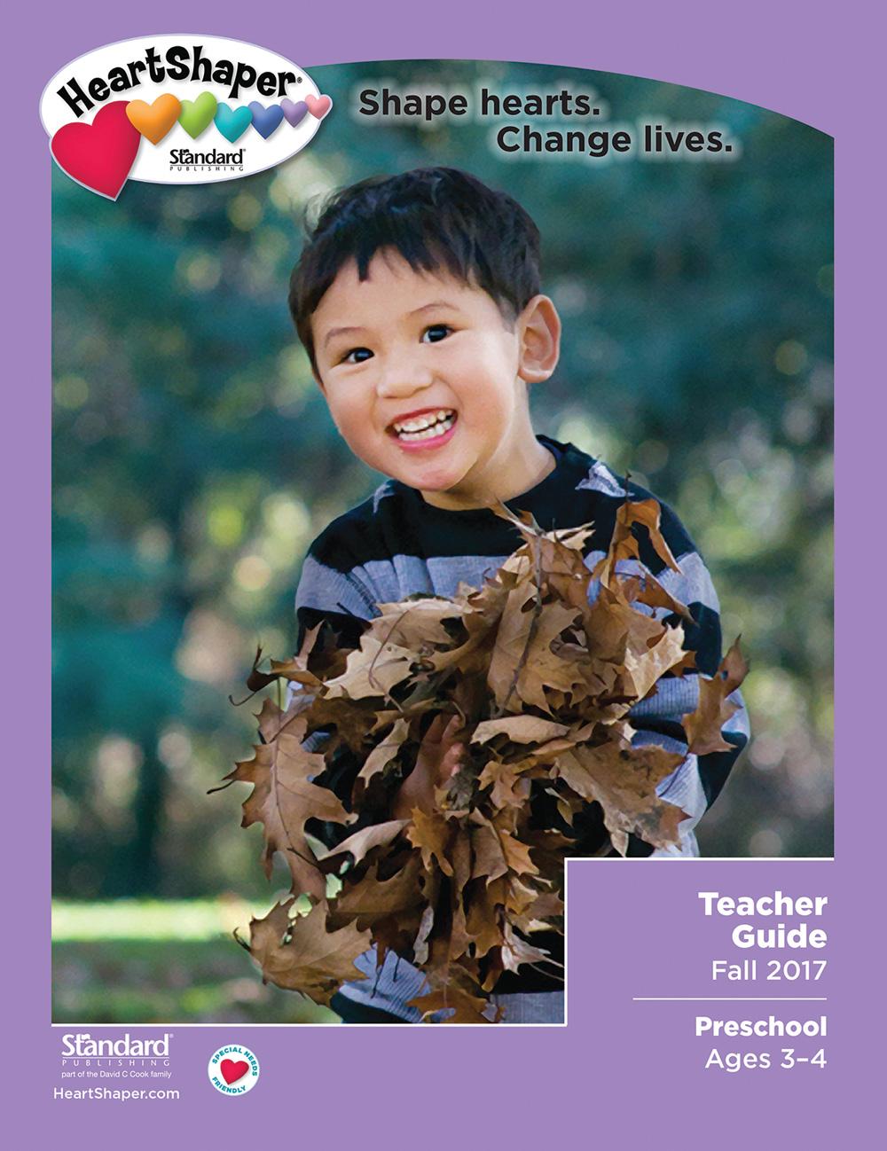 HeartShaper preschool teacher guide fall 2017